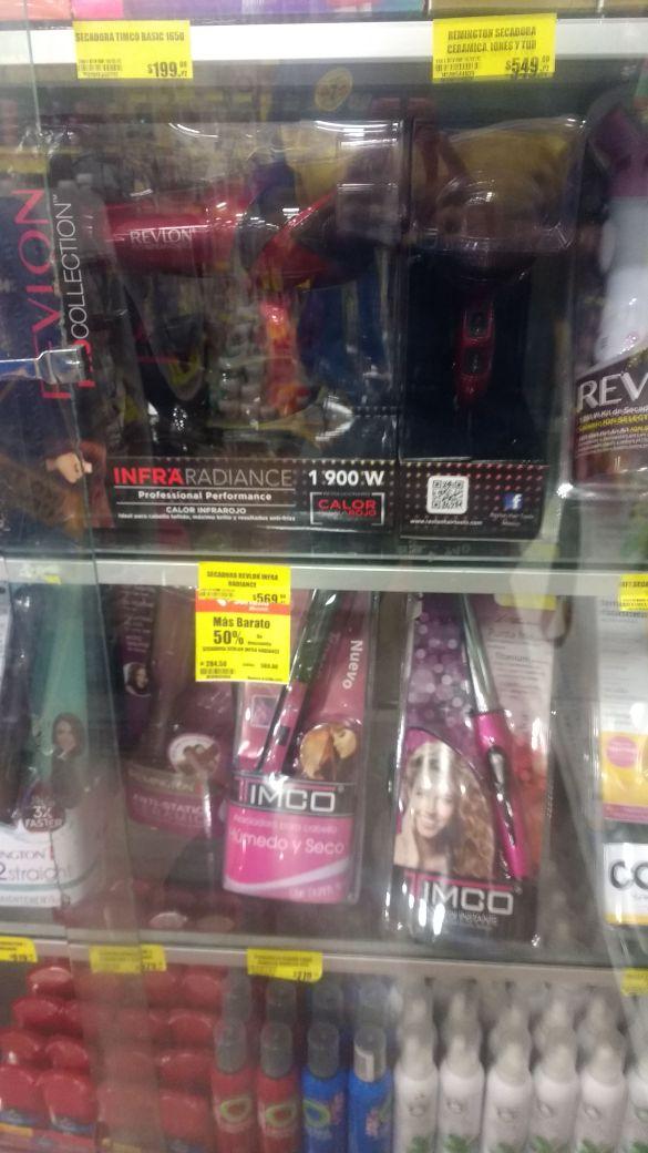 Soriana: Secadora Revlon infrared a $285