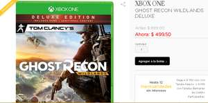 Palacio de Hierro: Ghost Recon Wildlands Deluxe para Xbox One