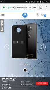 Motorola: Moto zZ Force Sound Edition