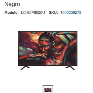 "Best Buy: Sharp - Pantalla de 65"" LC-65P6000U"