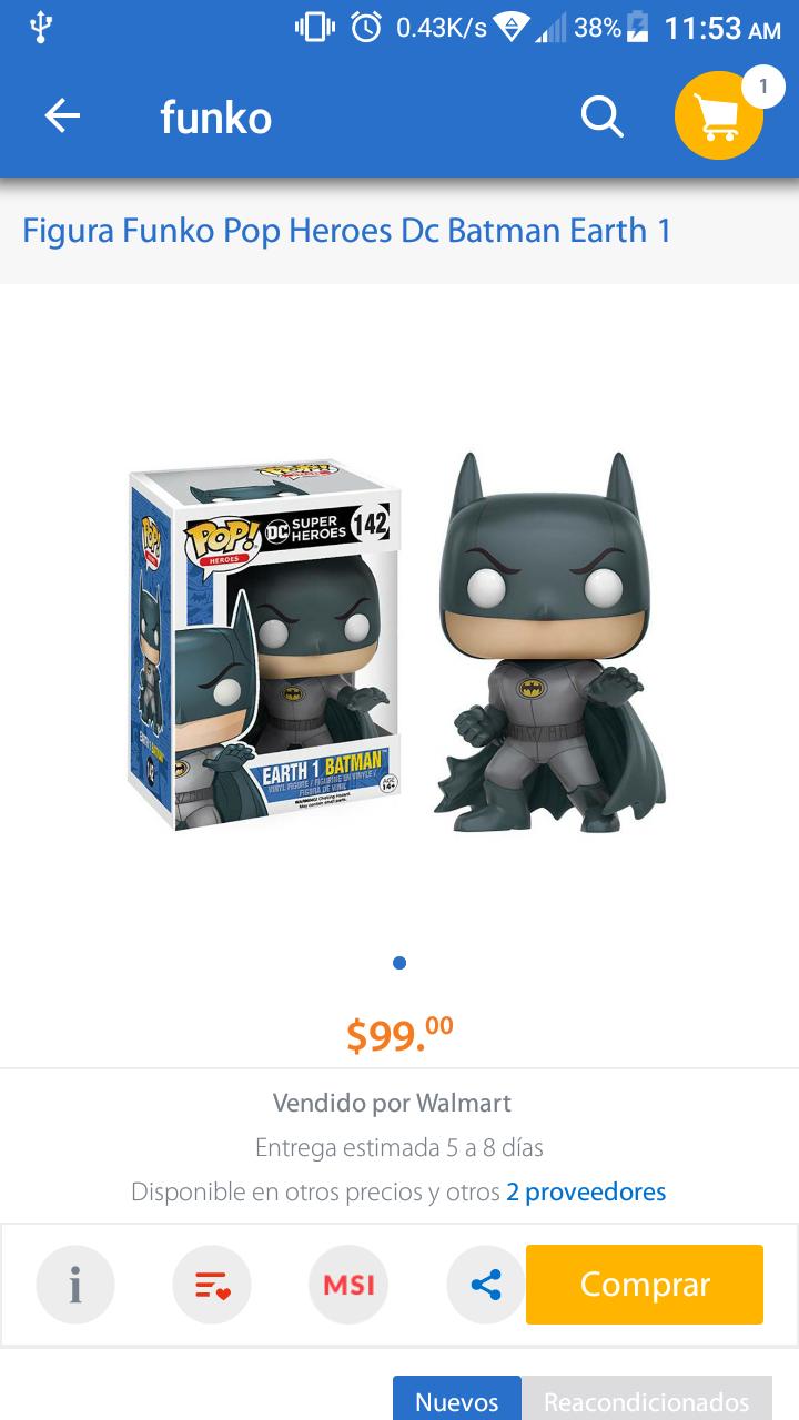 Walmart: Funko Batman