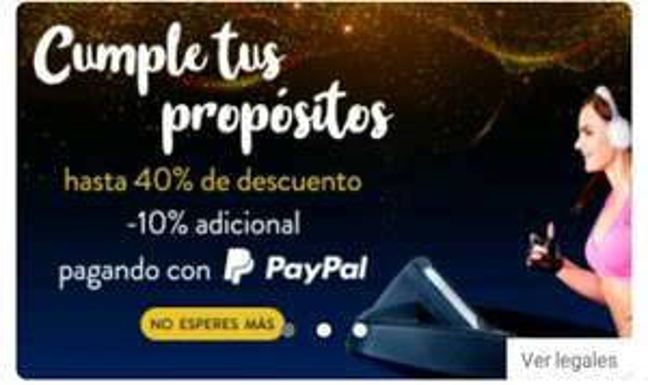 Linio: 10% de descuento adicional pagando con PayPal. descuento máximo $1000
