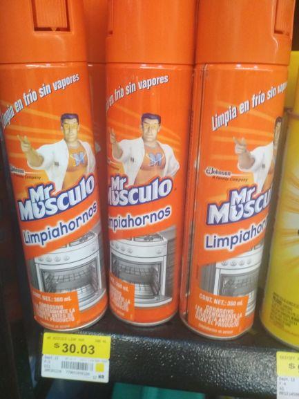 Walmart: Mr musculo  spray