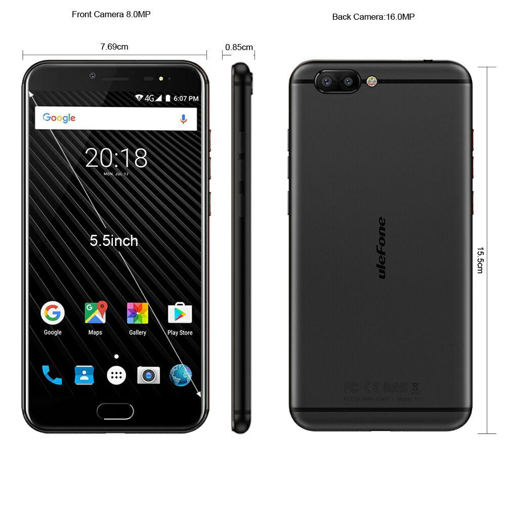 Gearbest: Ulefone T1 Global 6GB de Ram y 128GB de Rom