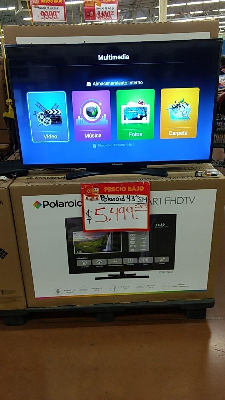 """Walmart: Smart TV Full HD Polaroid 43"""""""