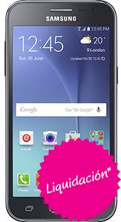 Movistar: Samsung Galaxy J2 color Negro $2,999  /  $1,599