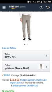 Amazon: Pantalón de Vestir Dockers