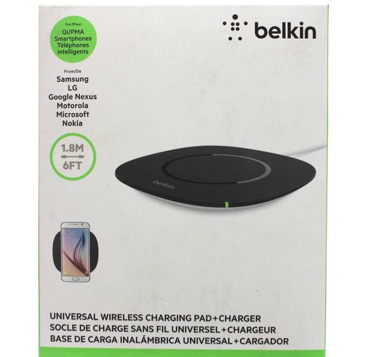 Walmart: Cargador inalámbrico Belkin