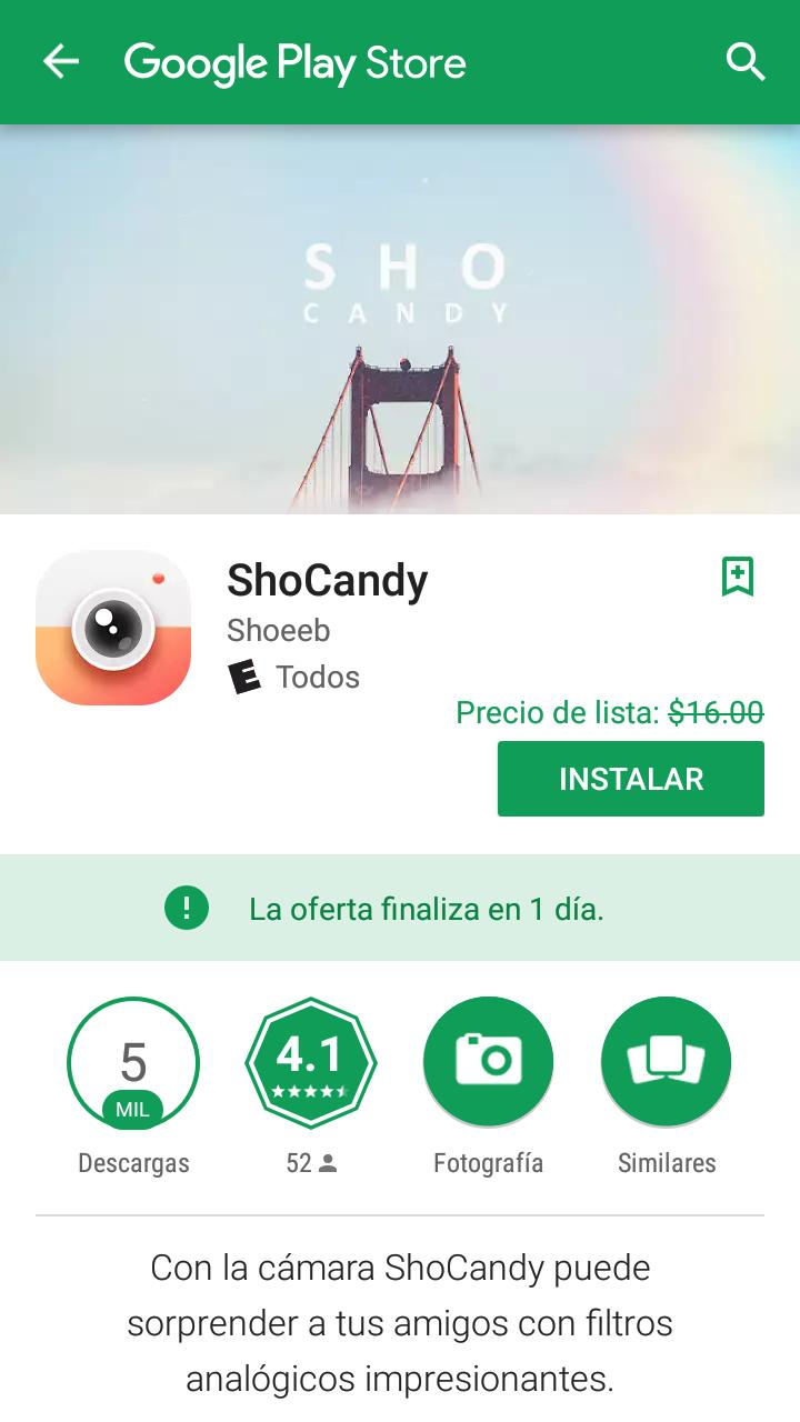 Google play: ShoCandy