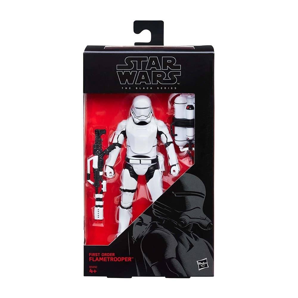 First Order Flametrooper Star Wars Black Series 6 Pulg