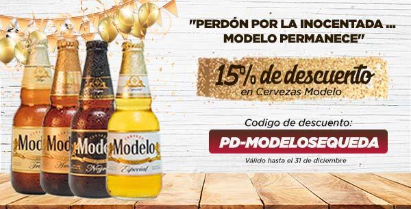 Beerhouse: 15% de descuento en cerveza Modelo