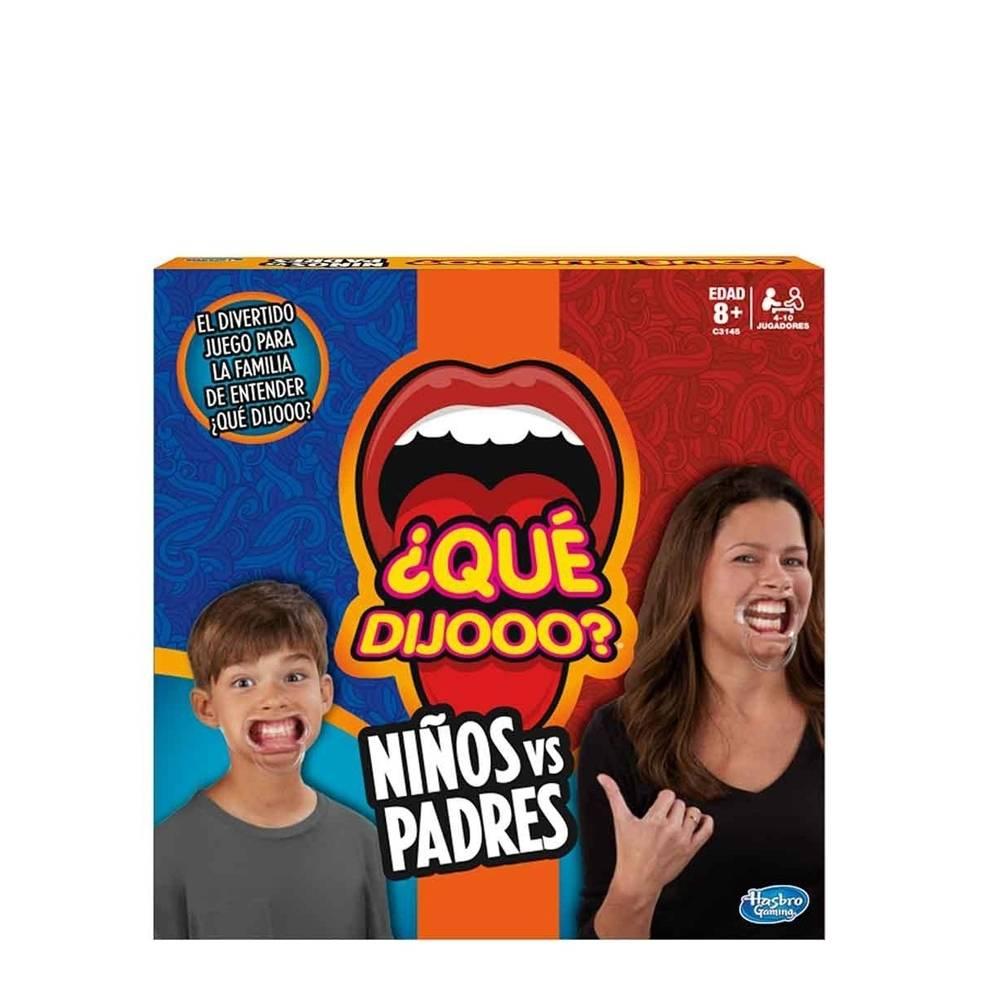 Walmart: Juego de mesa  ¿Qué dijooo? Niños contra Padres Hasbro Gaming