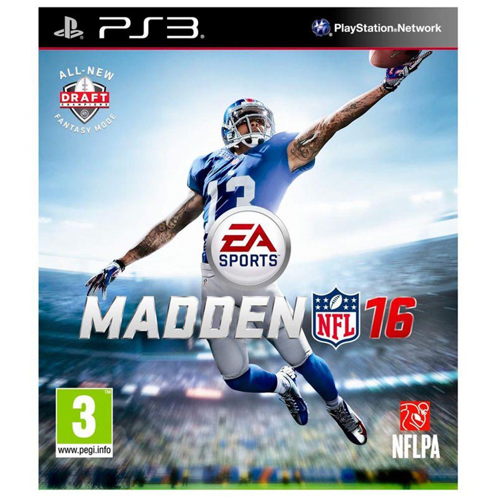 Elektra: Madden NFL 16 PS3 y envío gratis