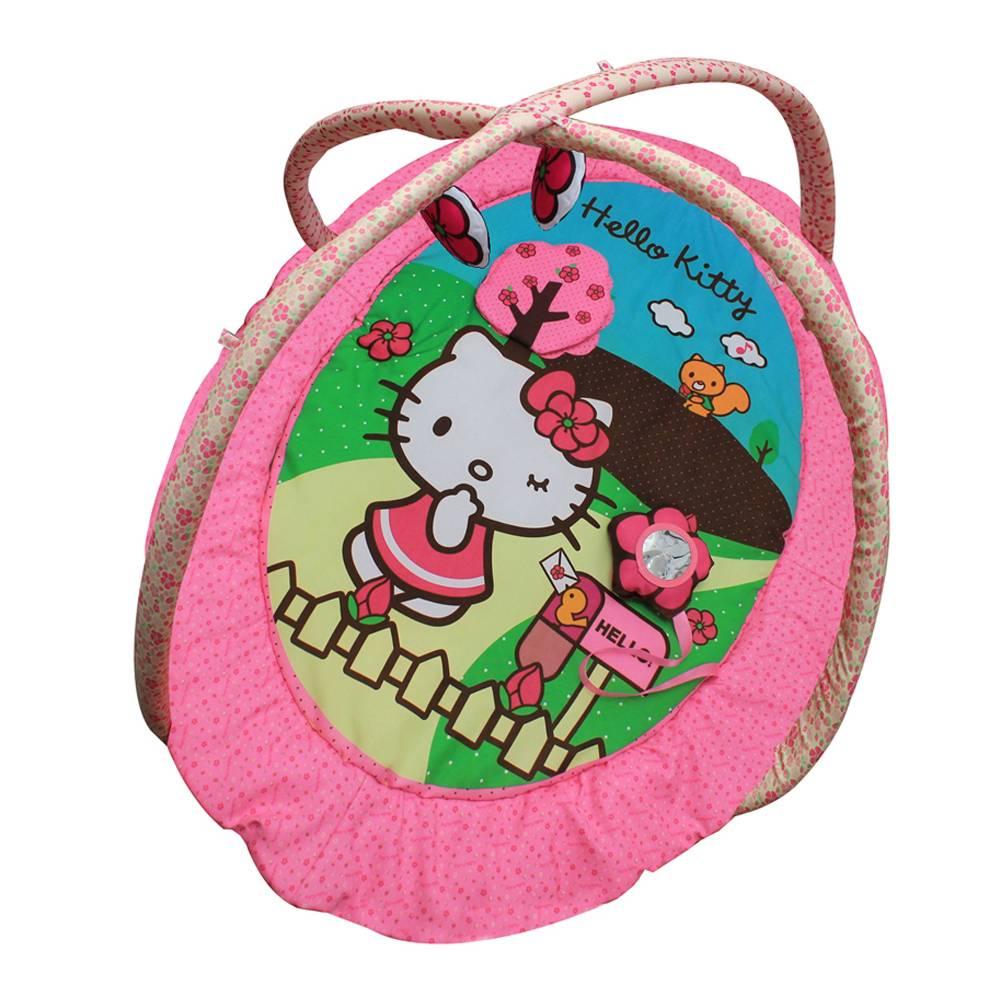 Walmart online:   Gimnasio Musical Infanti Hello Kitty Rosa de $1390 a $699