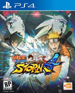 Amazon: Naruto Shippuden Ultimate Ninja Storm 4 PS4