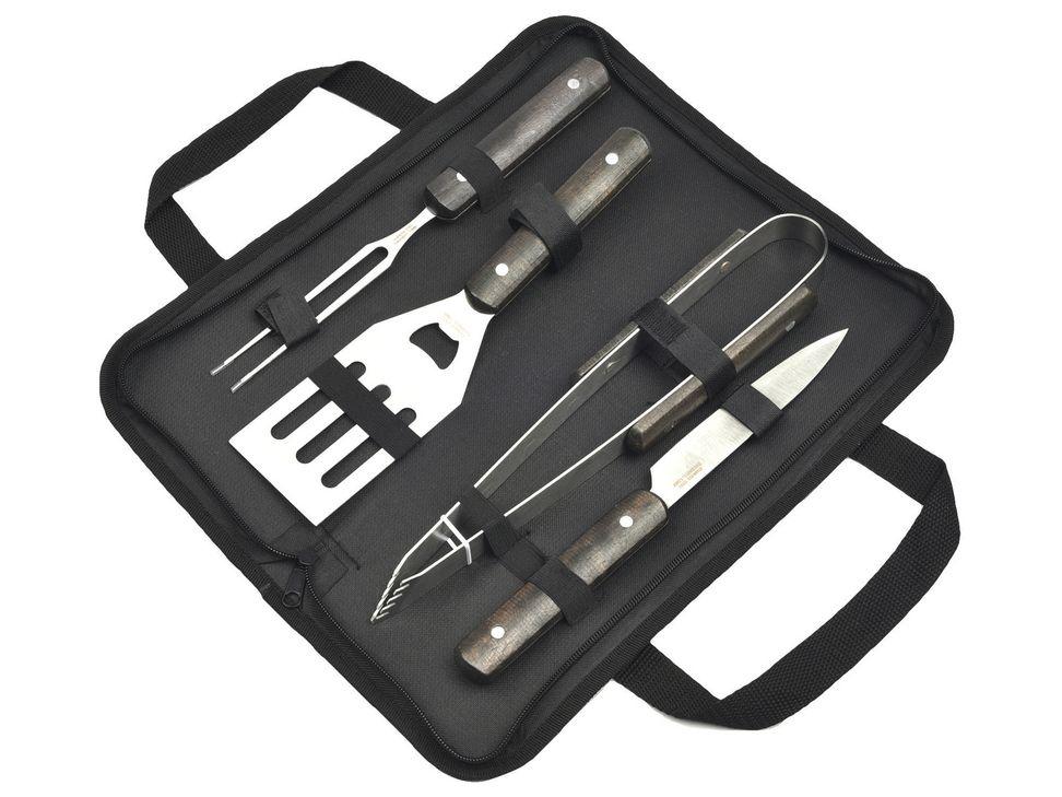 Liverpool: Set de utensilios para asar I like Bbq
