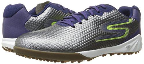 Amazon: Skechers Performance Men\'s Go Soccer-54901 Walking Shoe, Charcoal, 10 D (M) US