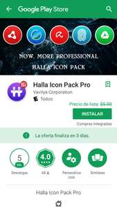 Google Play: Halla Icon Pack Pro