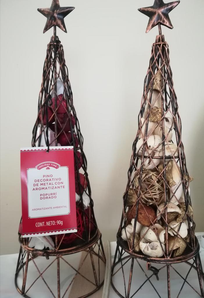 Walmart SLP: Pino decorativo con Aromatizante + Promonovela