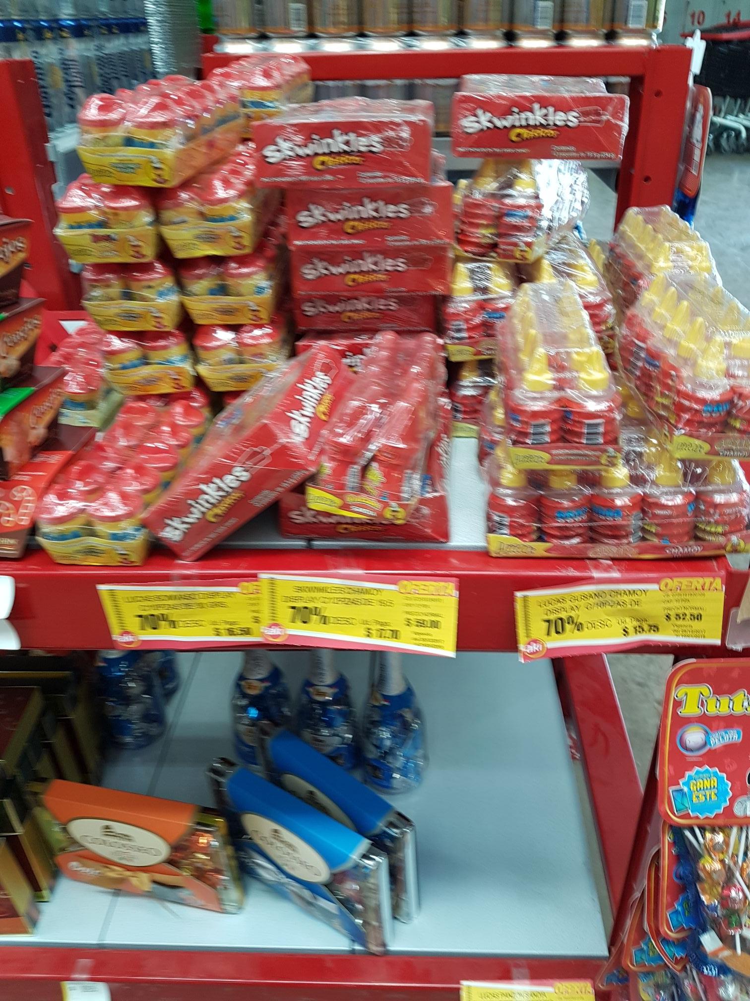 Super Aki: dulces con 70% de descuento
