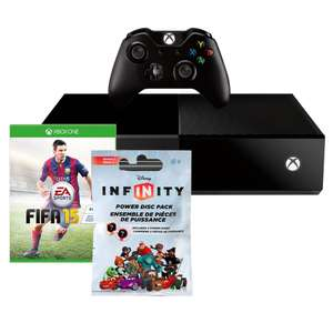 Walmart: Xbox One con FIFA 15 + Infinity Power Disc Pack $5,990