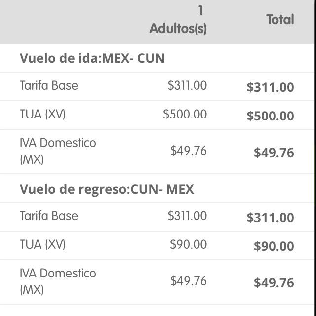 Interjet: Vuelos redondos con Payback (ej. Cancún desde $1,332)