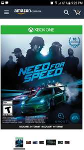Need for Speed - Xbox One Standard Edition