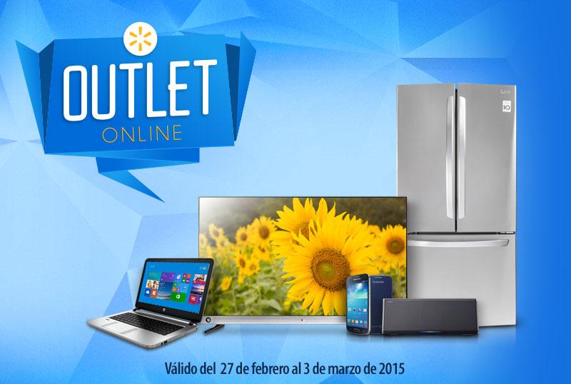 Walmart outlet online del 27 de febrero al 3 de marzo