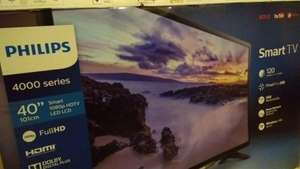 "Walmart: Pantalla Led Smart Philips 40"" Toreo + Promonovela"
