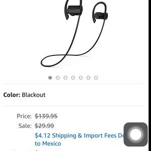 Amazon USA: Phaiser BHS-430 Bluetooth Headphones, Sweatproof Wireless Earbud