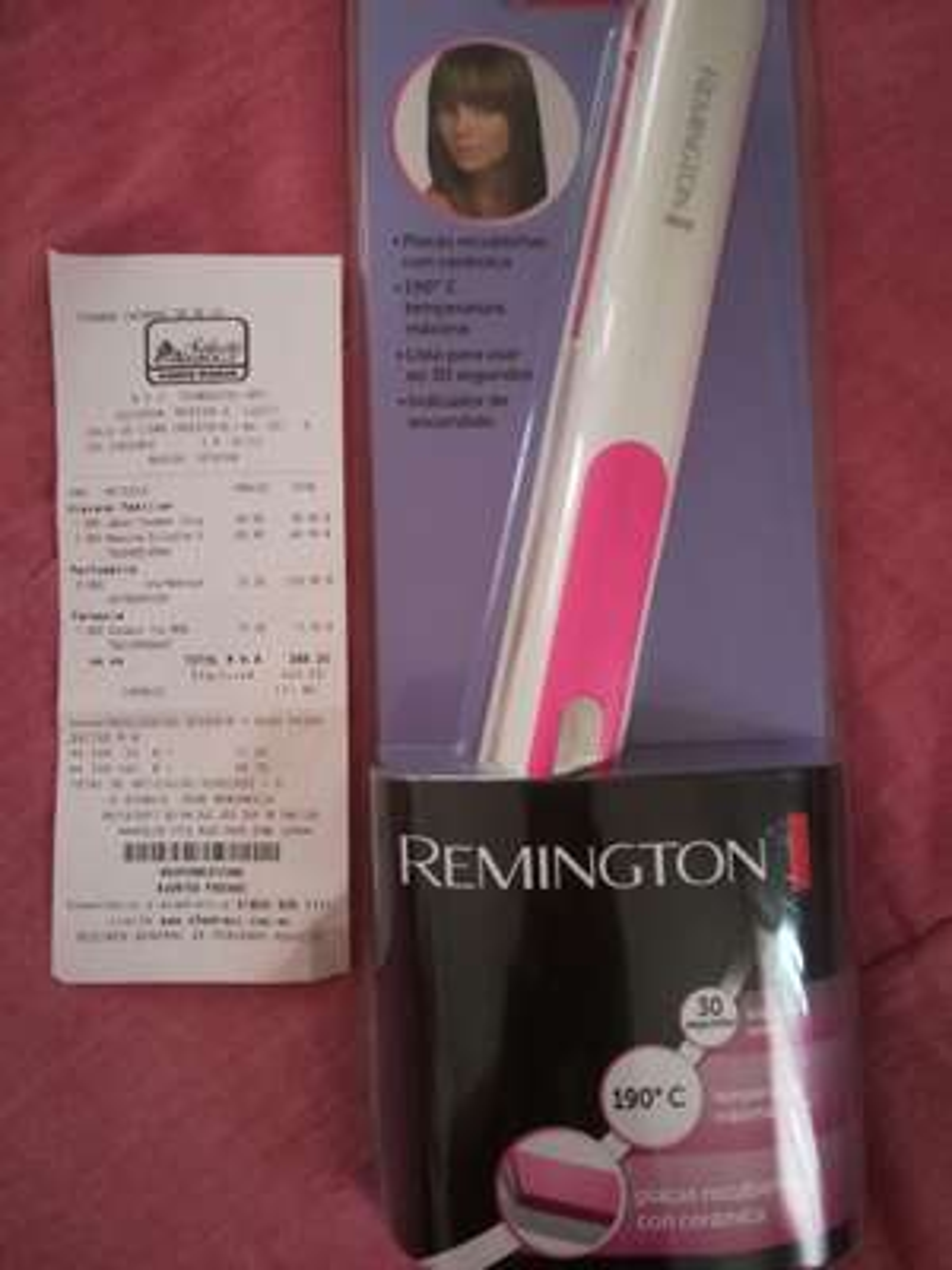 Chedraui: alaciadora remington