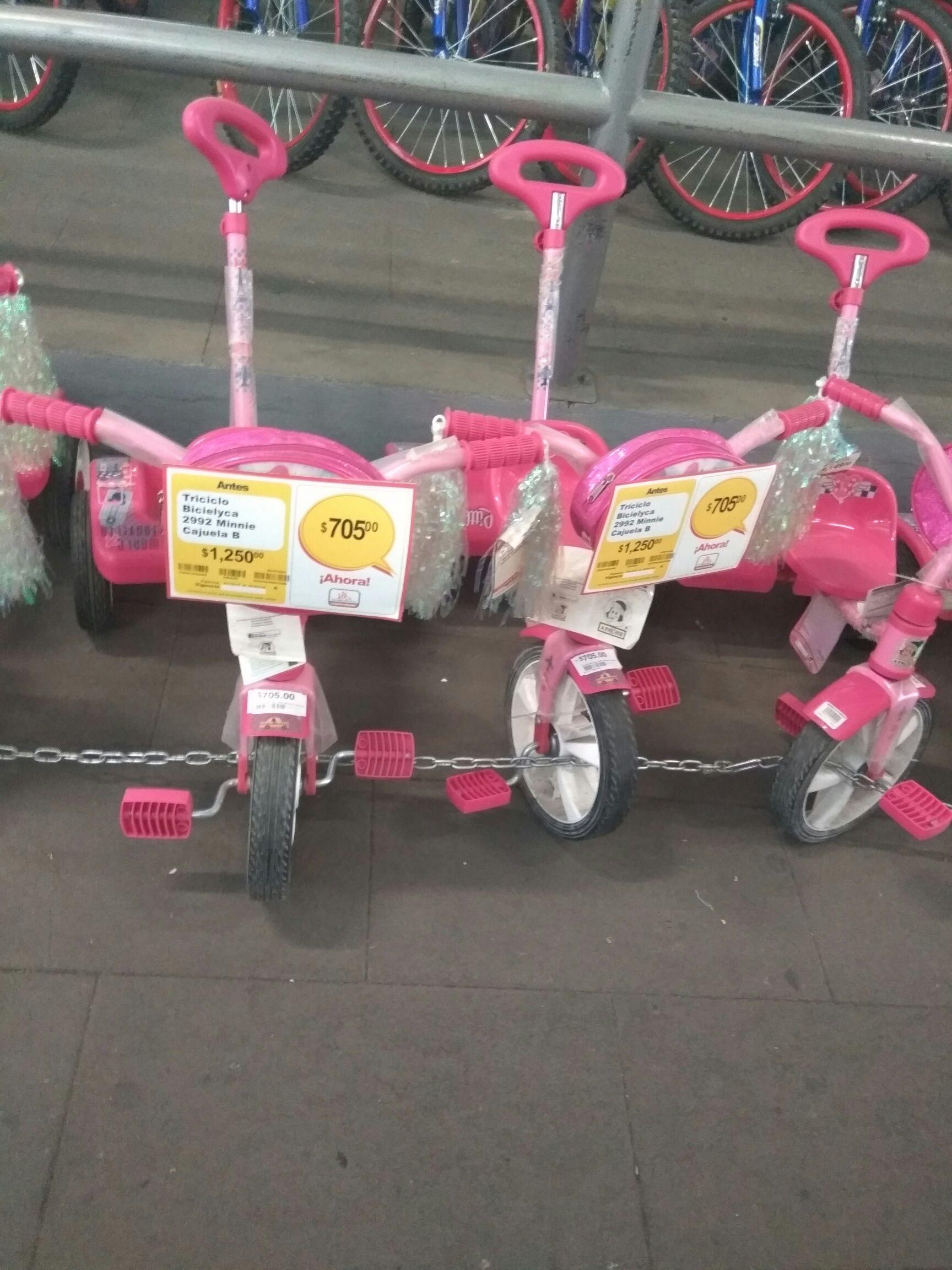 Triciclo Apache Minnie Chedraui Reforma Oaxaca