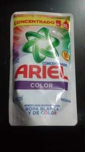 Chedraui: Ariel color concentrado 400ml a solo $3.00