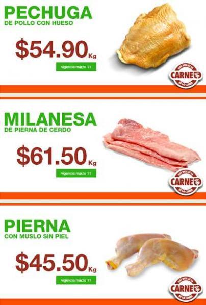 Martes de ofertas de carnes en La Comer marzo 11