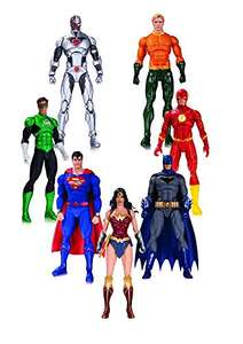 Amazon: Liga de la Justicia, Figuras de acción 7 Pack