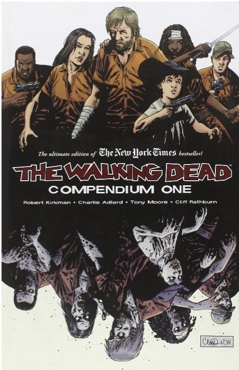 Sanborns: Cómic Walking Dead Compendium 1 de 1200 a 600 (Incluye tomos 1 al 8)