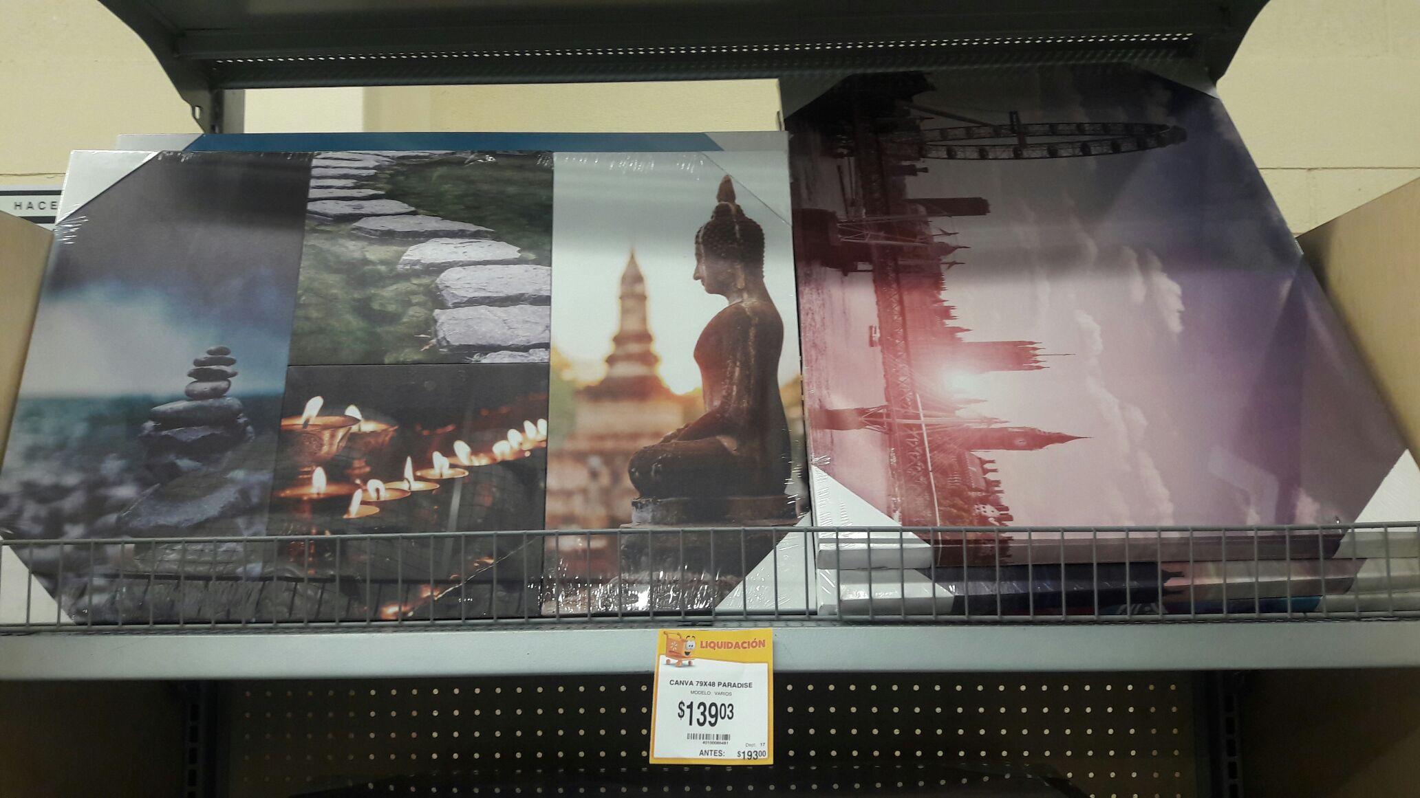 Walmart Macroplaza SLP: Cuadros decorativos 139.03