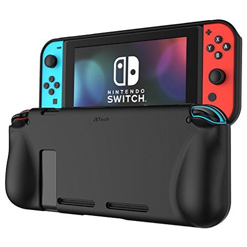 Amazon: Funda Nintendo Switch, JETech Protección Carcasa Case con Tope Shock-Absorción y Anti-Arañazos Borrar Espalda para Nintendo Switch (Negro)