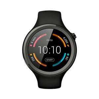 "Soriana: Smartwatch Motorola 360 Sport 1.37"" negro - $3999"