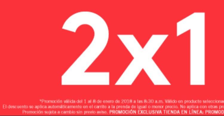 Promoda online: 2x1 productos seleccionados