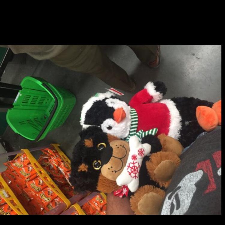Bodega Aurrerá: liquidación de Peluches navideños promorelató