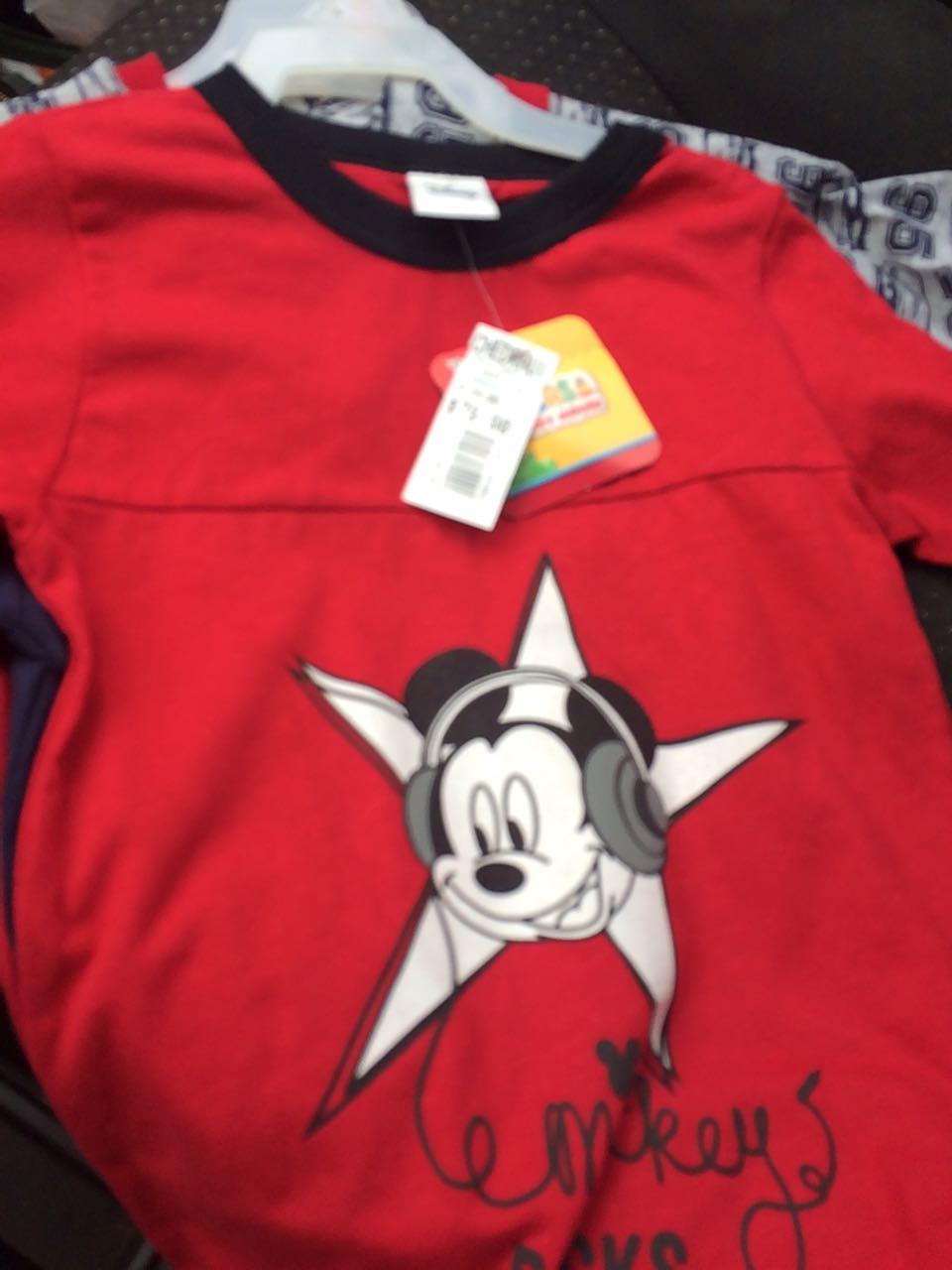 Chedraui Cristal: Playera para niño Marca Disney