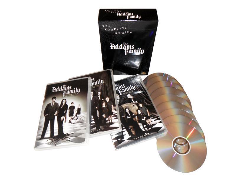 Amazon MX DVD The Addams Family - The Complete Series (Importado)