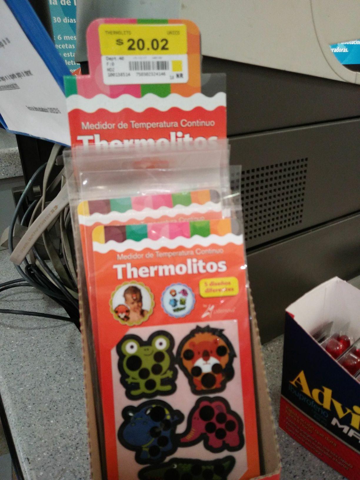 Walmart reforma puebla: liquidación de parche termometro y bolsas zipploc