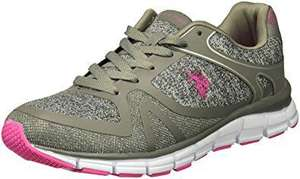 Amazon: Tenis para mujer U.S. Polo Assn 10 US (27 MX)