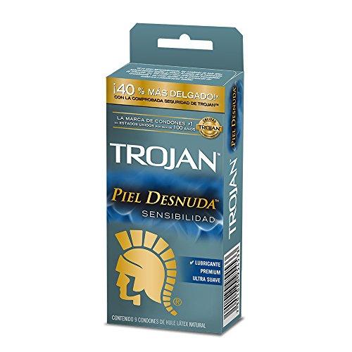 Amazon: Trojan piel desnuda 9 pzas PRIME