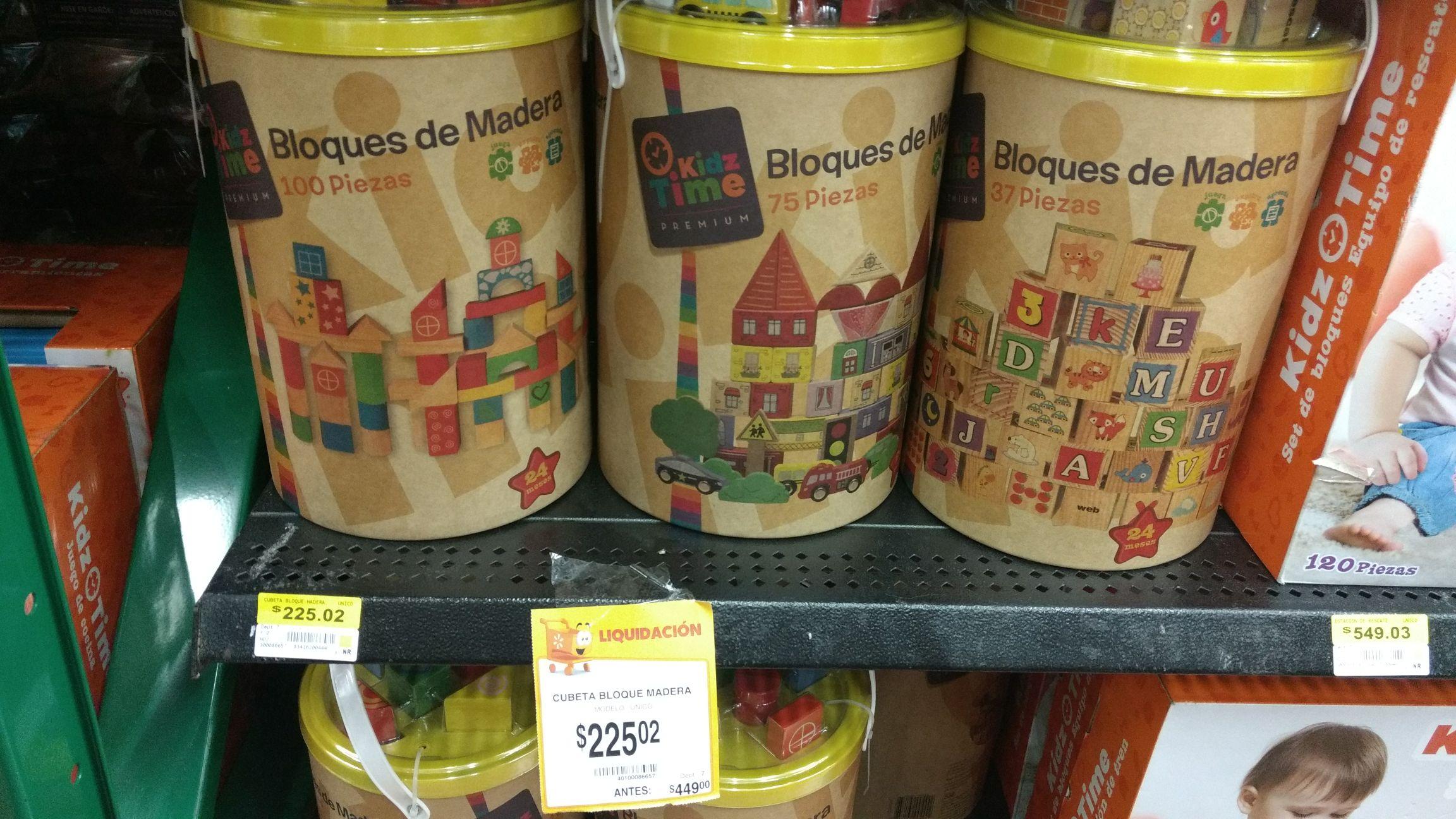 Walmart: Juegos Didácticos casi al 50% (ej. Cubitos Kidz a $225)