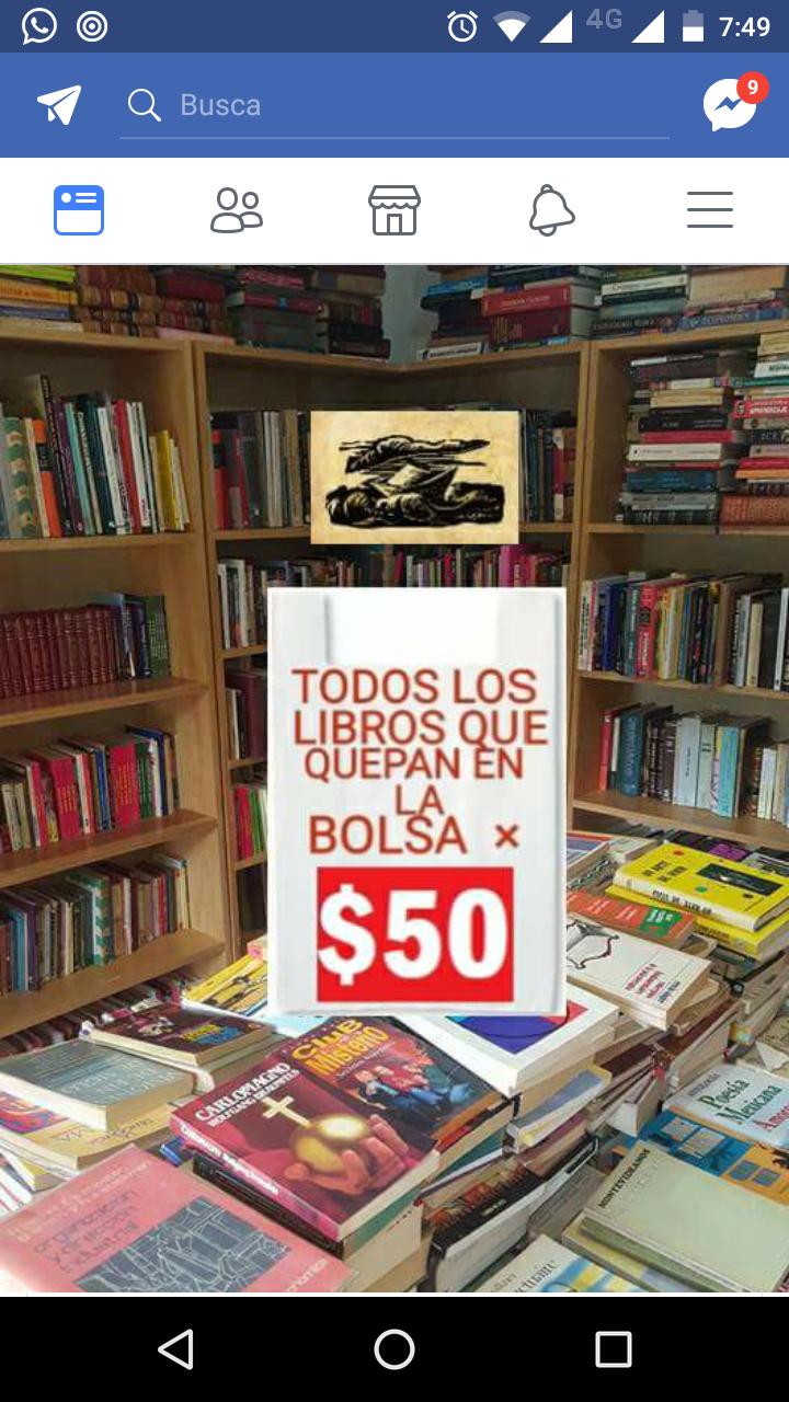 El barco del papel CDMX: todos los libros que quepan en la bolsa por $50