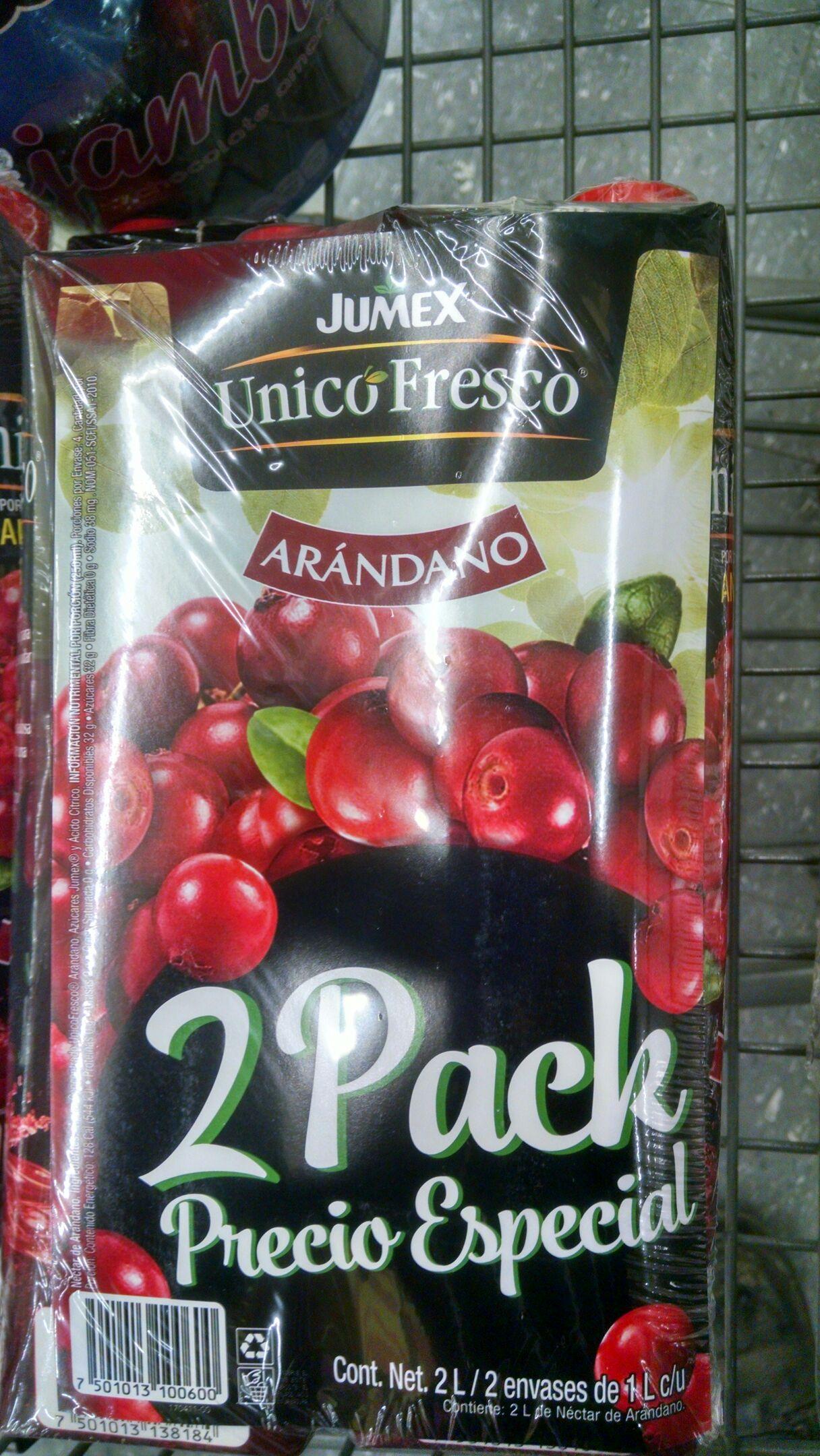 Walmart : jugo de arándano paquete de 2
