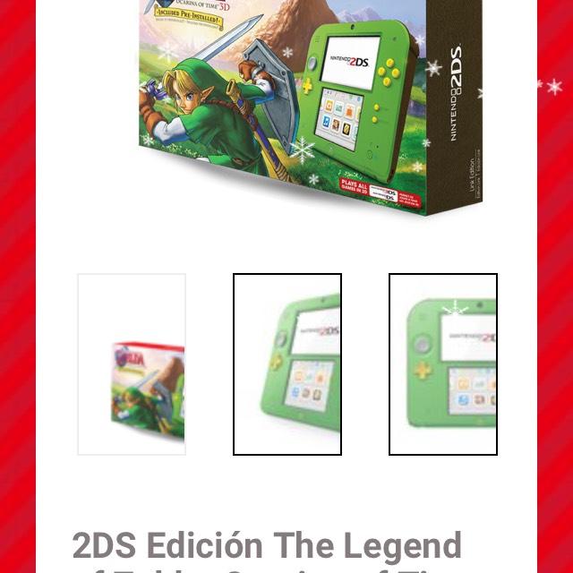 Gamers: Nintendo 2DS Edición The Legend of Zelda: Ocarina of Time